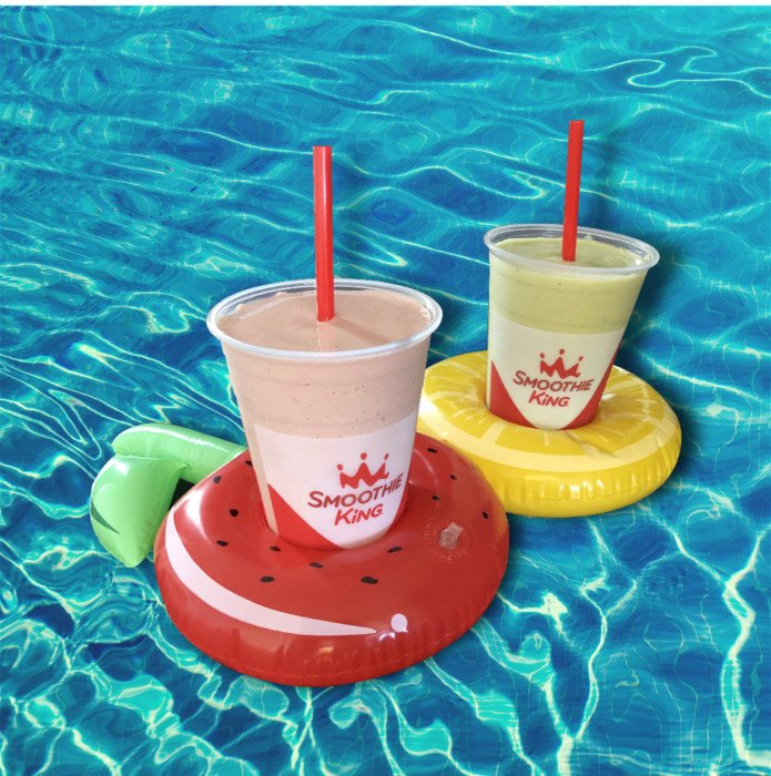 FREE Smoothie King Smoothie on 3/10 if You Bring in a Pool Float