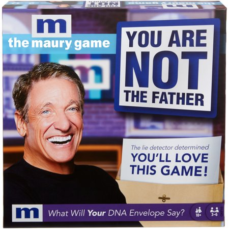 The Maury Game: You are Not The Father, Funny Adult Party Game Now $9.62 (Was $19.99)