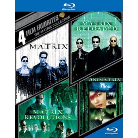 4 Film Favorites: The Matrix Collection (Blu-ray)