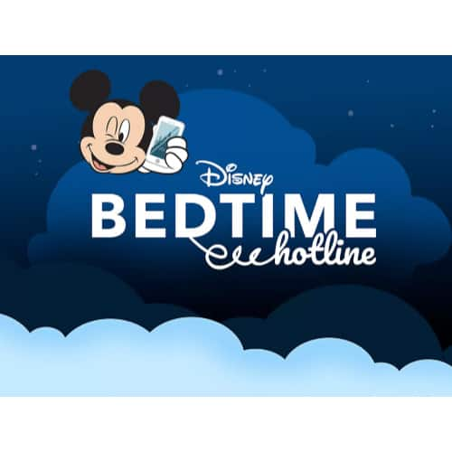 FREE Disney Bedtime Calls from Mickey, Minnie, Goofy and More!
