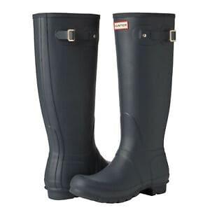 Hunter Women's Original Tall Black Rain Boots Now .99 (Was 0.00)