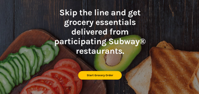Restaurants Offering Groceries for Pick Up