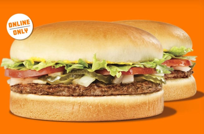 Whataburger - Buy One Get One Free Burgers