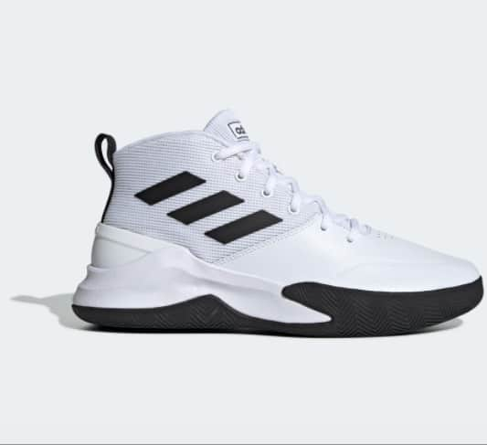 Adidas Mens Essentials Ownthegame Shoes Now .40 (Was )