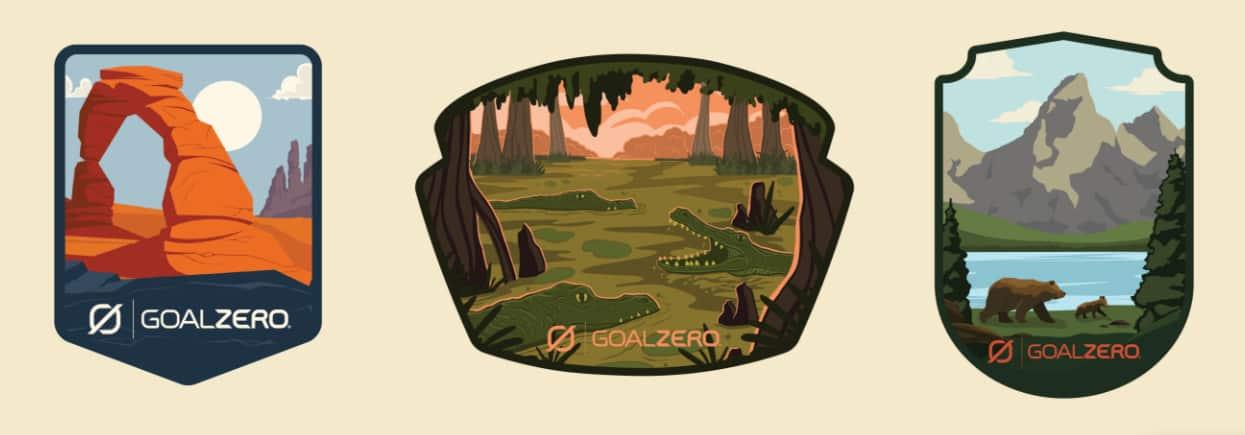 Free Goal Zero National Park Sticker