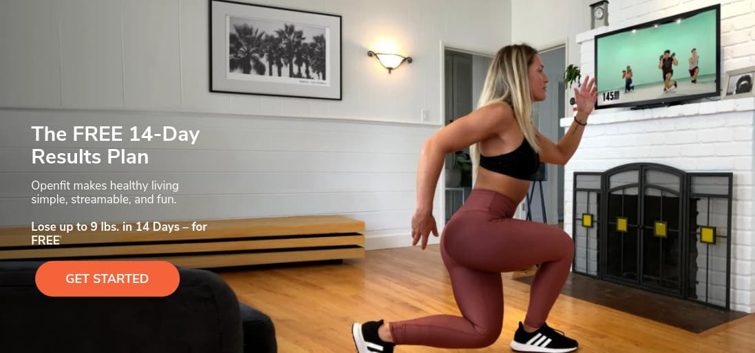FREE 14-Day Trial of Openfit - Work Out at Home for FREE