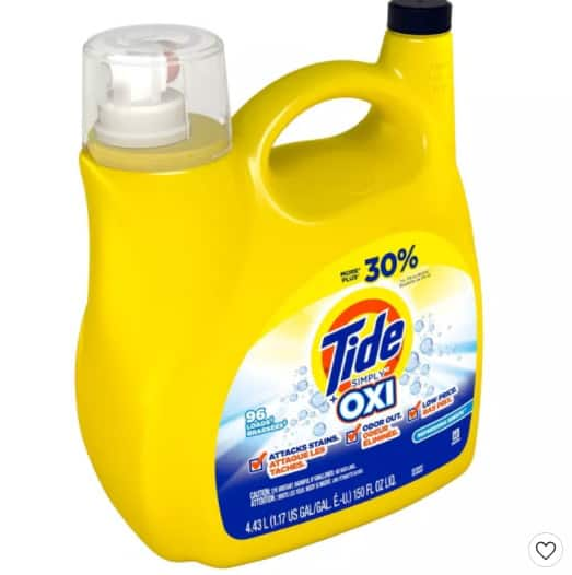 3 Tide Liquid Detergent 150 oz  Shipped + FREE  Target Gift Card