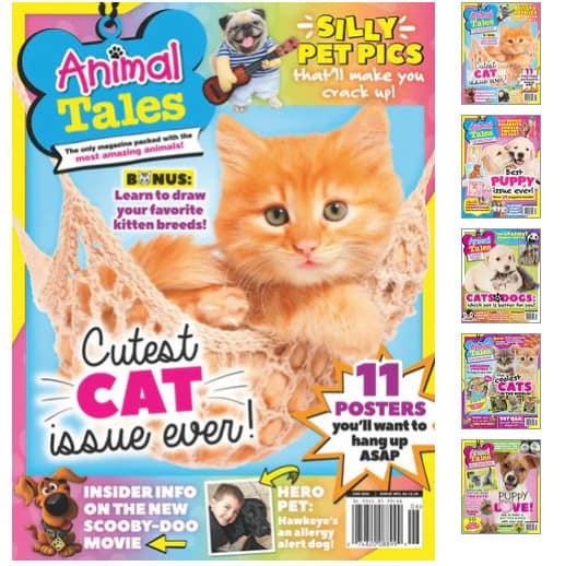 Animal Tales Magazine .99 Per Year
