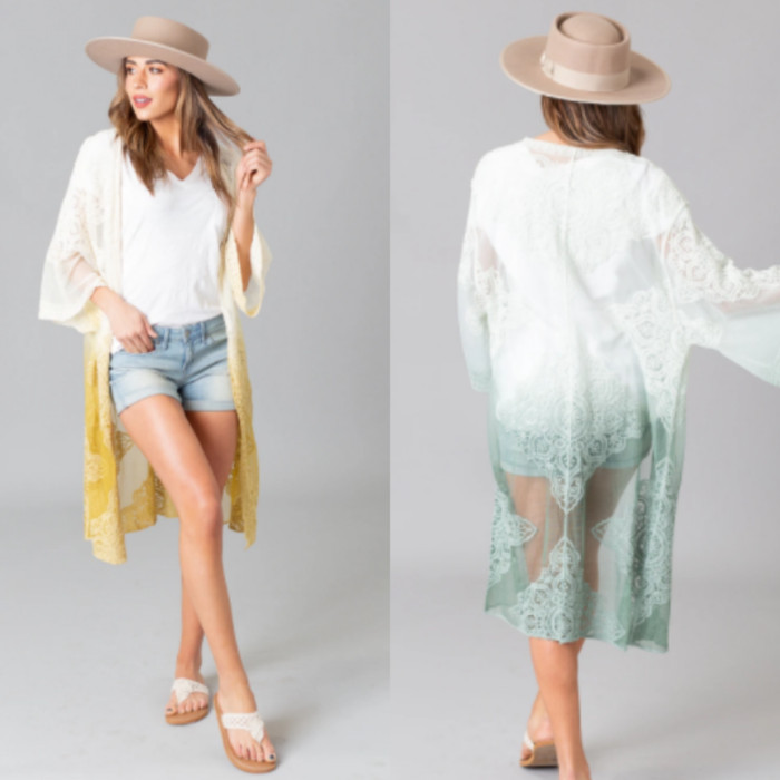 Cents of Style: Buy One, Get One Free Spring Kimonos & Ponchos + Free Shipping