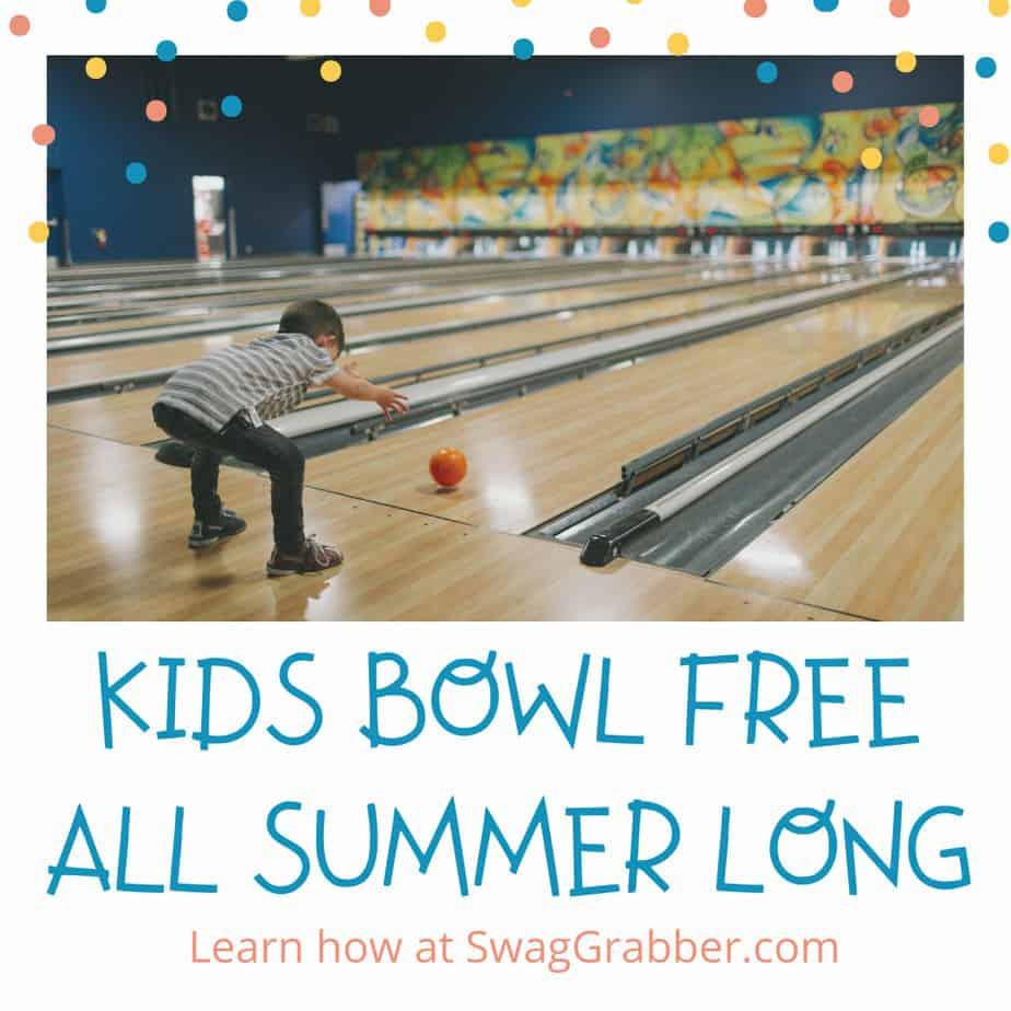 Kids Bowl Free All Summer Long