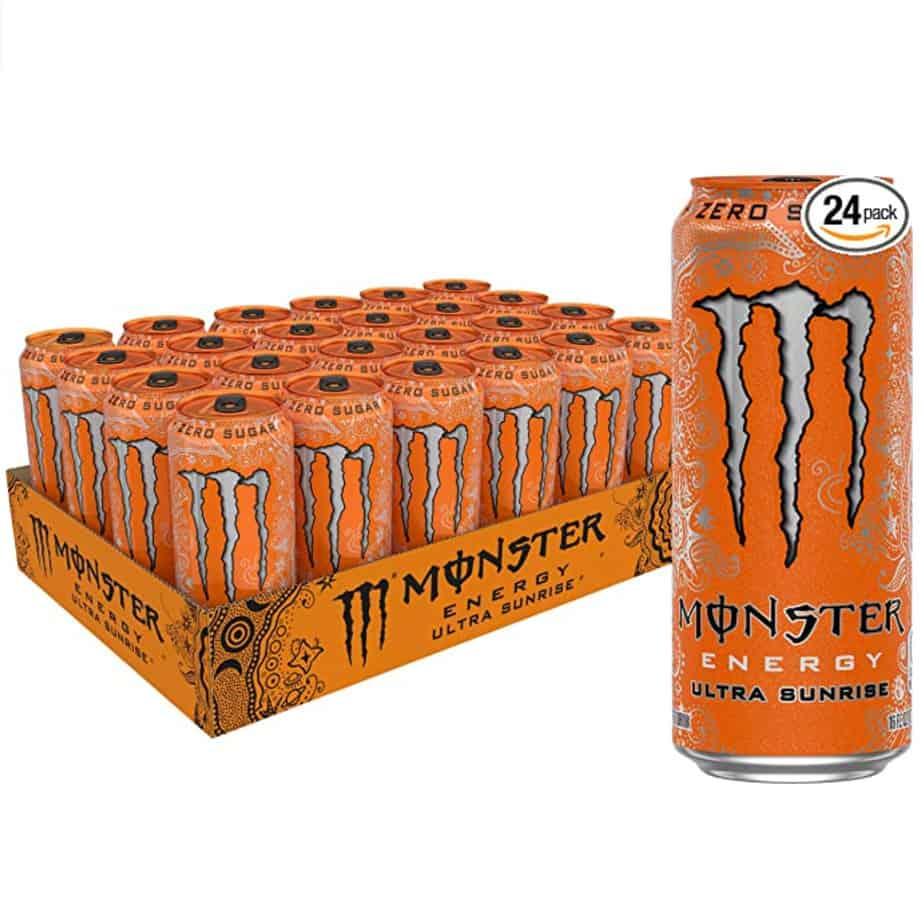 Monster Energy Ultra Sunrise Energy Drink 24-Pack Now .64