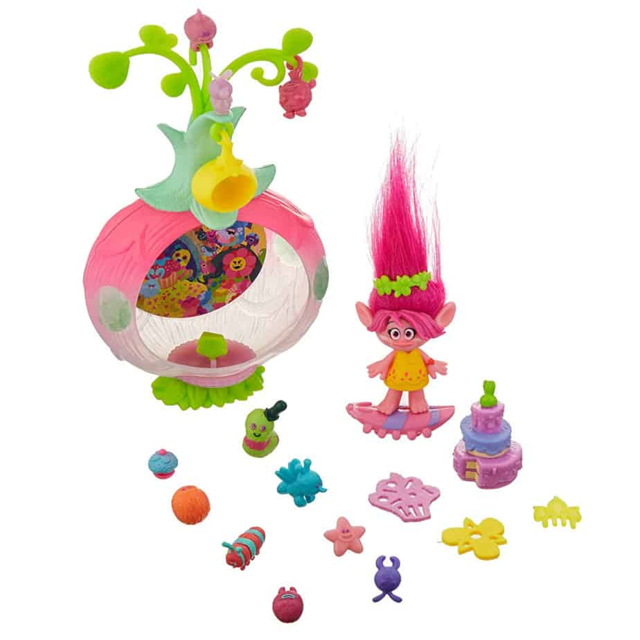 Dreamworks Trolls Sparkle Surprise Party Pod Playset with Color-Changing Poppy Now .22 (Was .99)