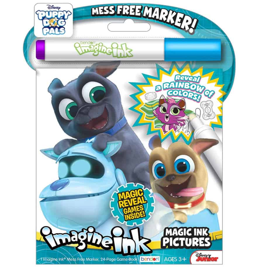 Bendon Puppy Dog Pals Imagine Ink Magic Ink Pictures Now .99 (Was .99)