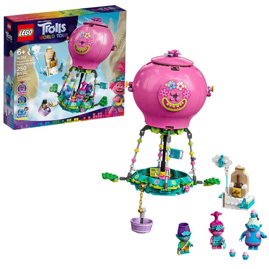 LEGO Trolls World Tour Poppy's Hot Air Balloon Adventure Now .86 +  Off