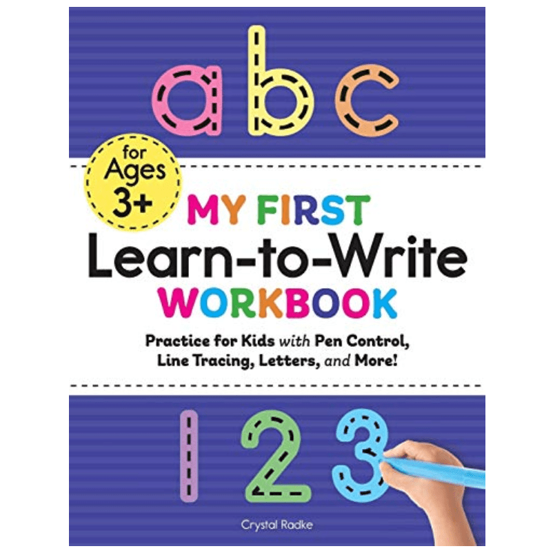 My First Learn to Write Workbook: Practice for Kids Now .53 (Was .99)