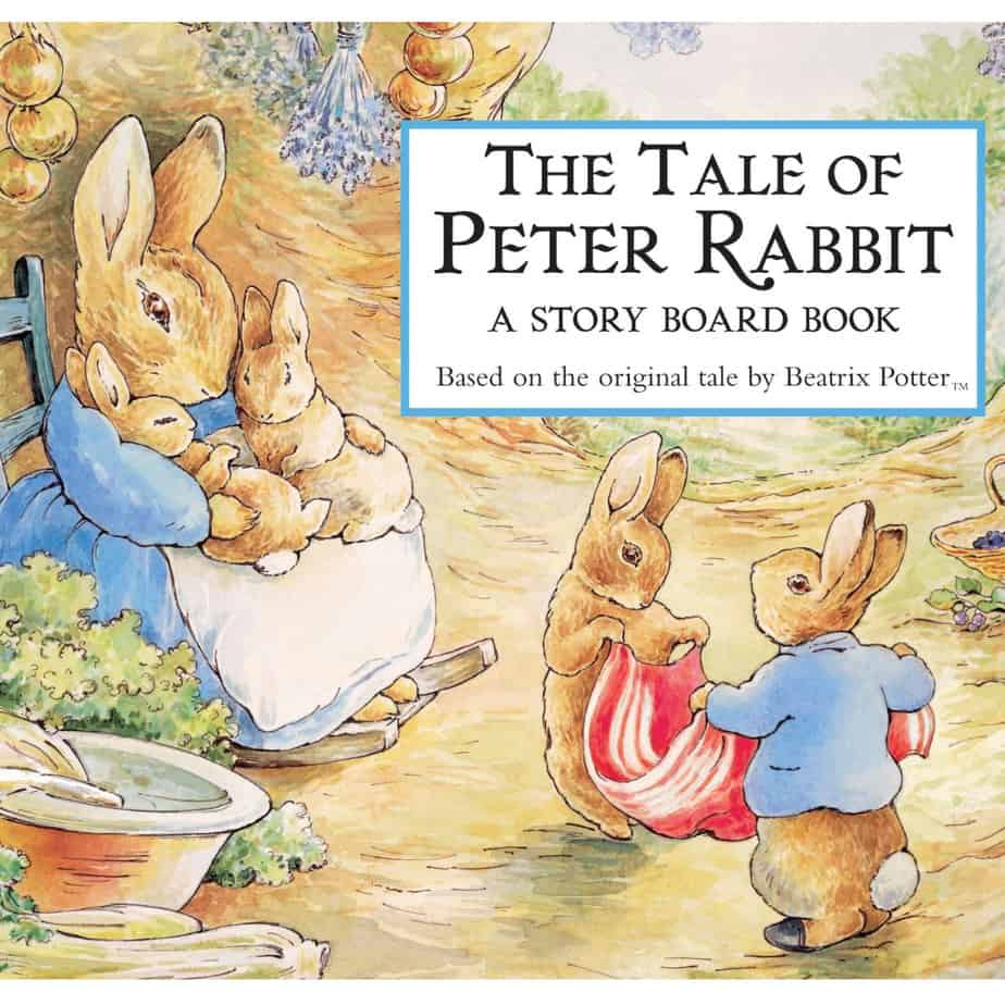The Tale of Peter Rabbit Story Board Book Now .99 + Buy 2 Get 1 FREE Easter Books & Movies
