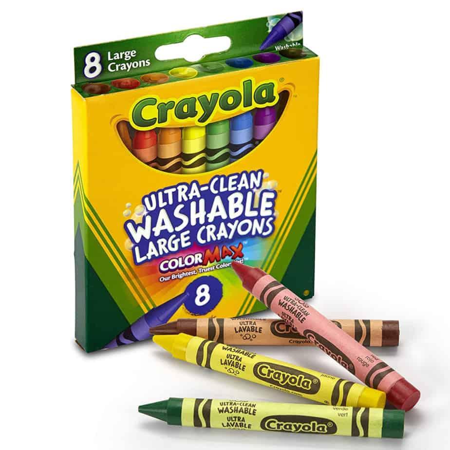 Crayola Washable  Large Crayons Now .99