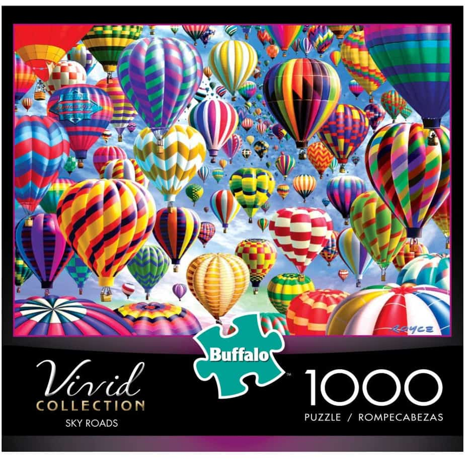 Buffalo Games Sky Roads 1000 Piece Jigsaw Puzzle Now .97
