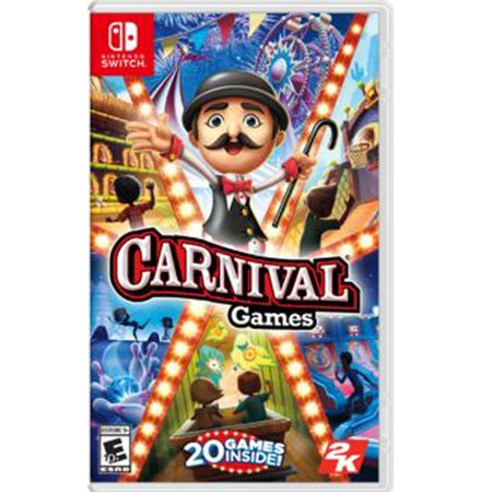 Carnival Games Nintendo Switch Now $14.99 (Was $39.99)
