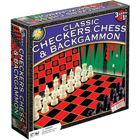 Checkers/Chess/Backgammon ~ 3 Games in One Now $6.90