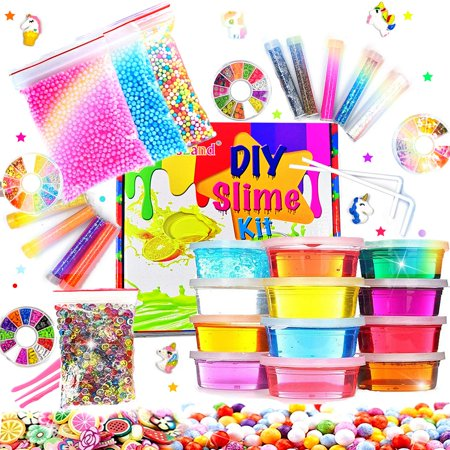 Ultimate Glow in the Dark Glitter Slime Making Kit Now $16.99 (Was $39.99)