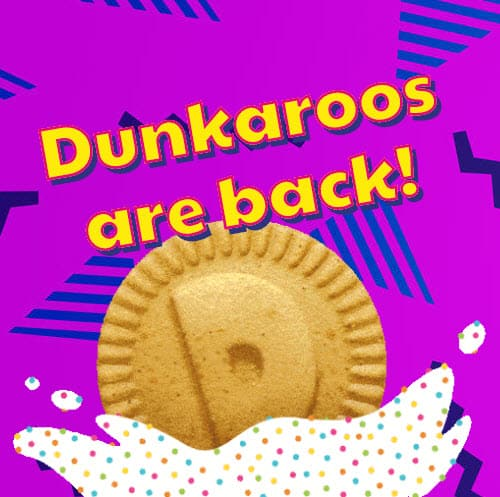 FREE Pack of Dunkaroos at 3 PM EST Today!!