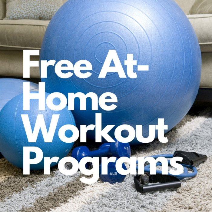 Free At-Home Workout Programs