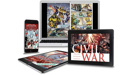 2 Free Months of Comic Books with ComiXology Unlimited