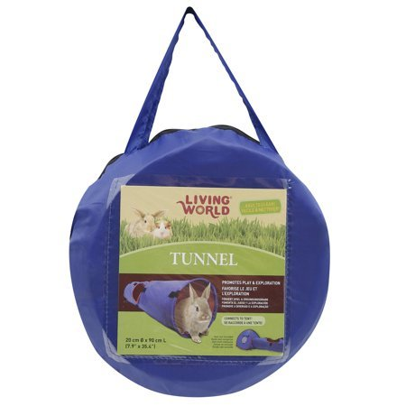 Living World Tunnel, Blue/Red, Large