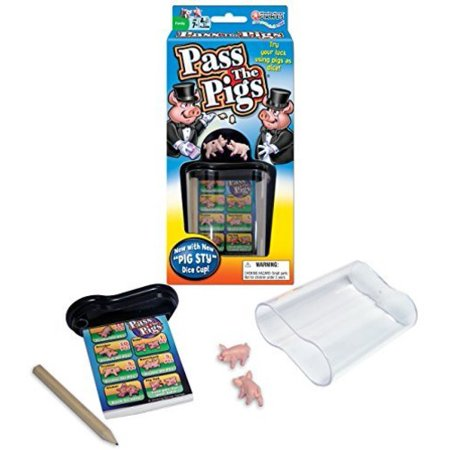 Winning Moves Games Pass The Pigs Now $5.39 (Was $12.99)