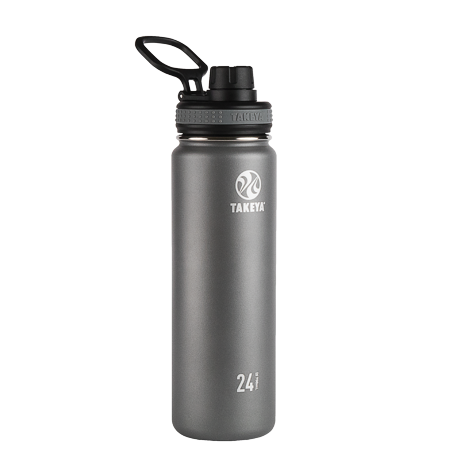 Takeya Originals Vacuum-Insulated Stainless-Steel Water Bottle, 40oz Now $19.99 (Was $34.99)