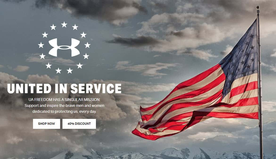 Under Armour Offering 40% Off Everything for First Responders, Healthcare Workers, Military, & Teachers