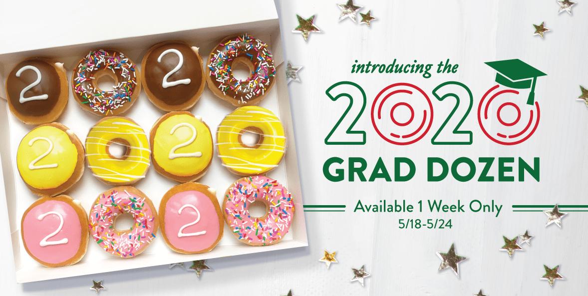 Krispy Kreme is Giving a FREE Dozen Donuts to All 2020 Graduates