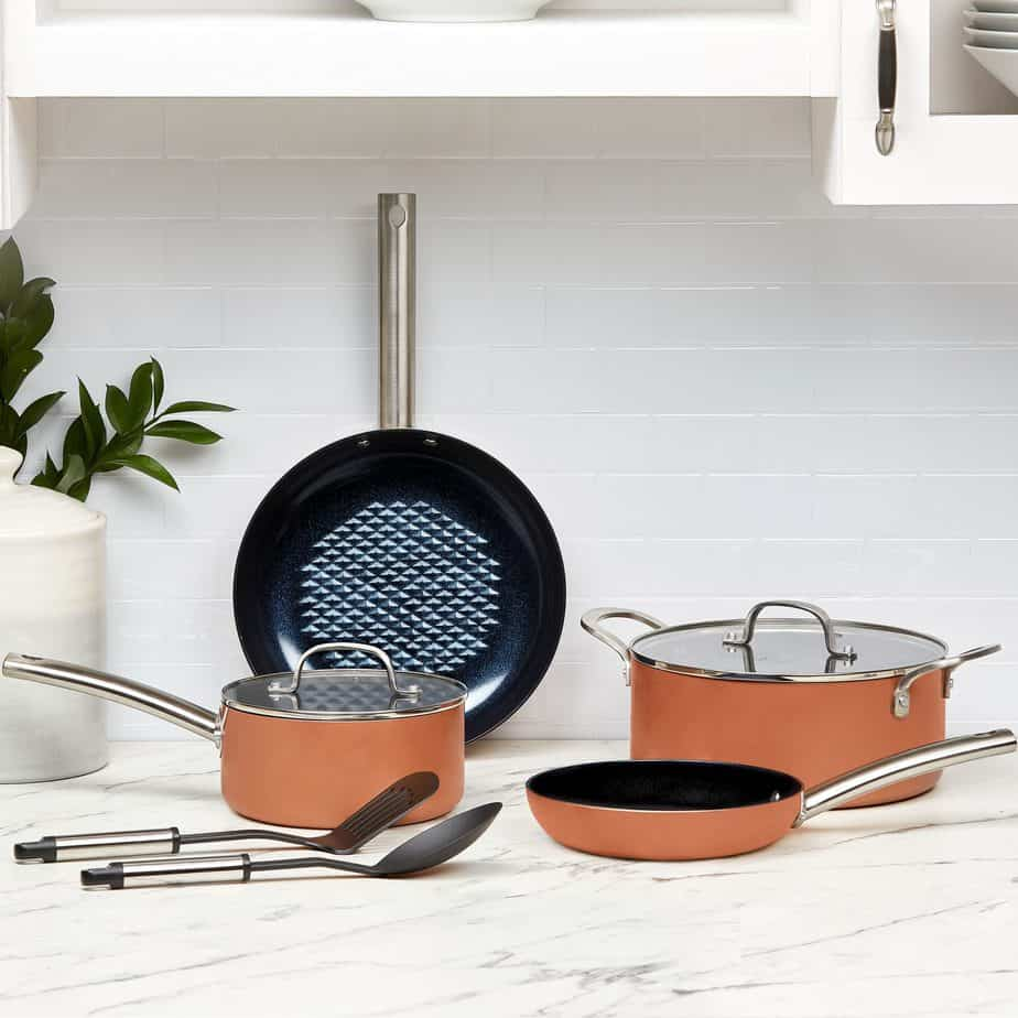 Copper Chef Black Diamond Cookware Set 8 Piece Now 49 Was 79 Swaggrabber