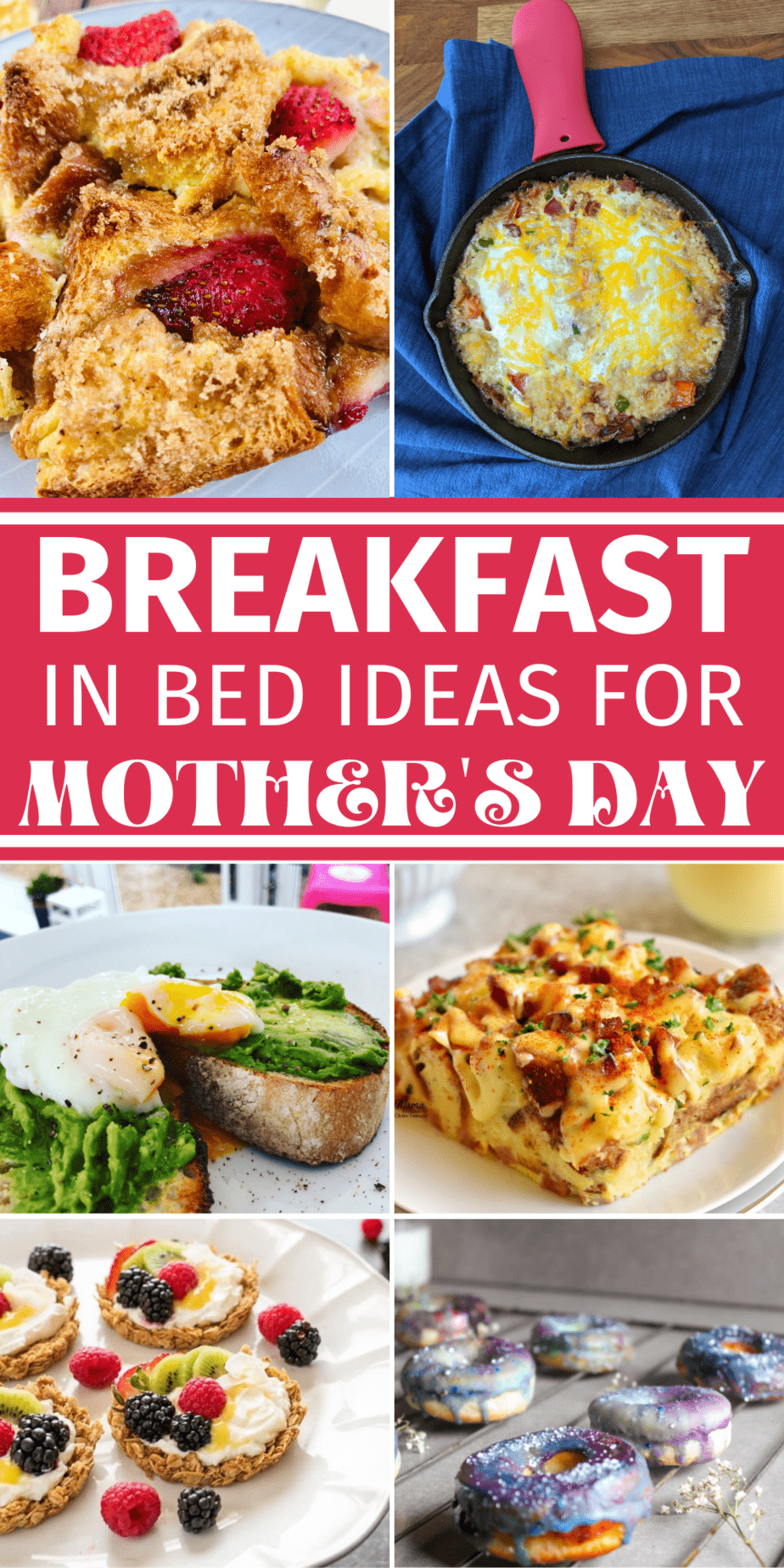 Breakfast in Bed Recipe Ideas for Mother's Day