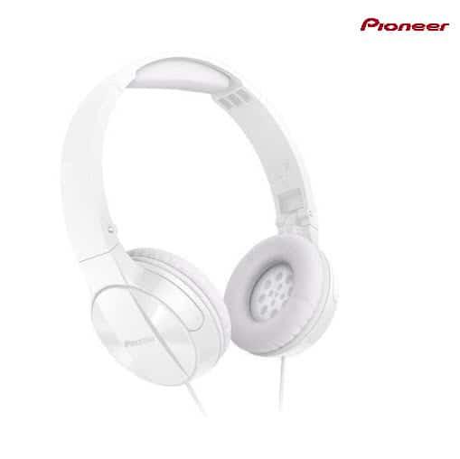 Pioneer SEMJ503W Enclosed Dynamic Foldable Headphones Now .99 Shipped