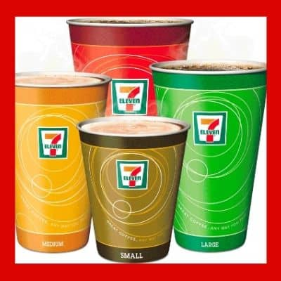 7 Free Hot Coffees or Big Gulps at 7-Eleven