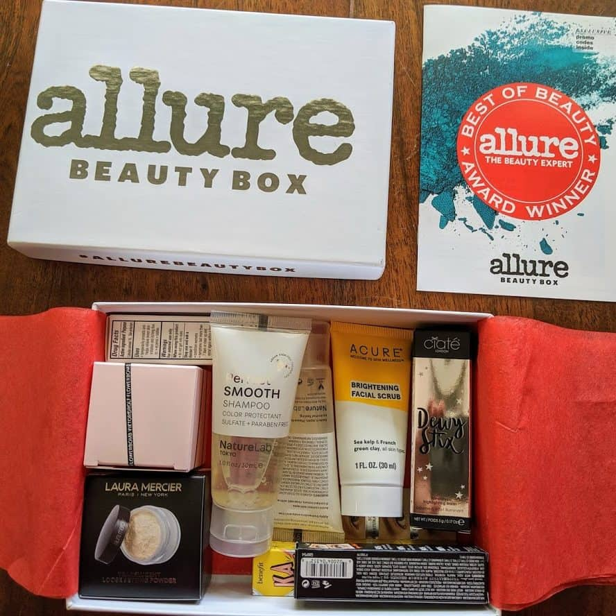 0 Allure Beauty Box ONLY  Shipped