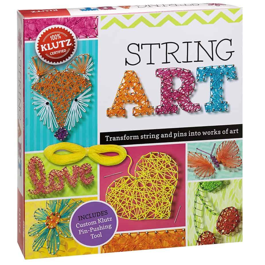 Klutz String Art Book Kit Now .69 (Was .99)