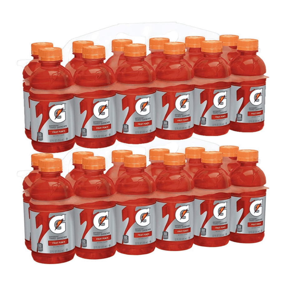 Gatorade Thirst Quencher 24-Pack Now .94 **Only 37¢ Each**