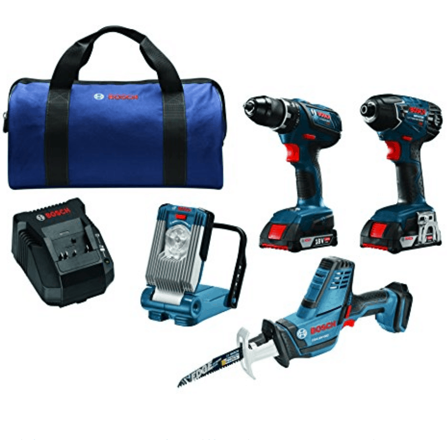 Bosch 18V 4-Tool Combo Kit Now 9.99 (Was 9)
