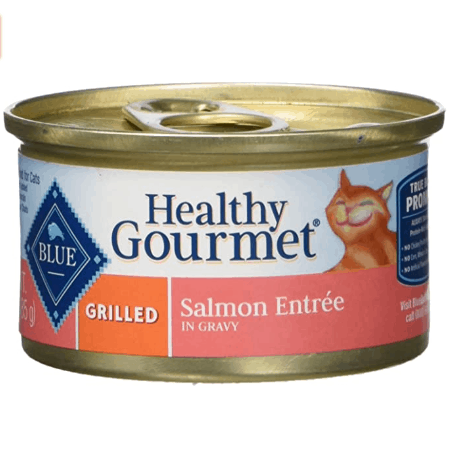 Blue Buffalo Healthy Gourmet Natural Wet Cat Food 24-Pack Now .35