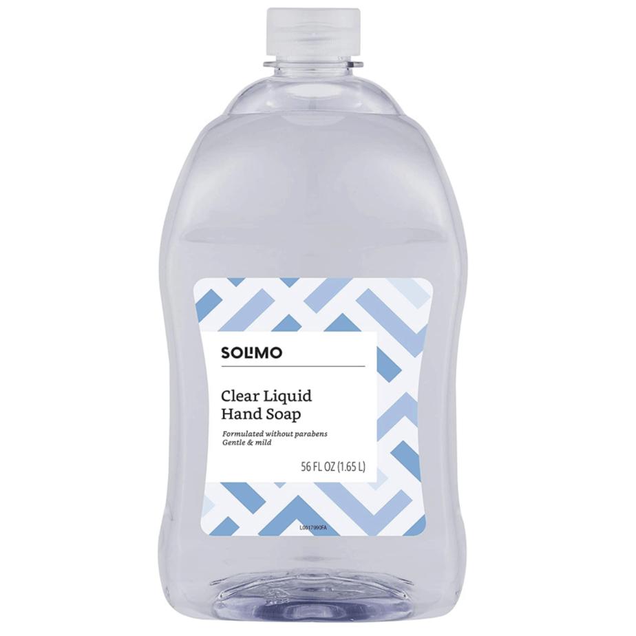 Amazon Brand Solimo Liquid Hand Soap Refill Now .95