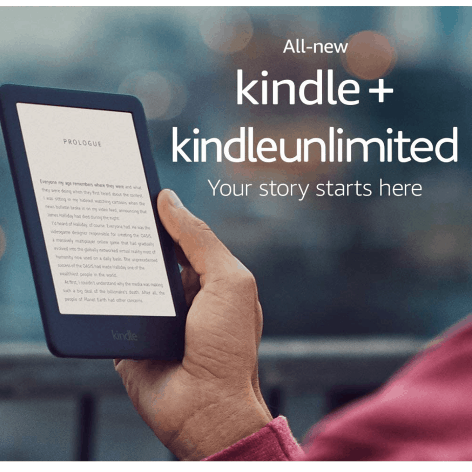All-New Kindle with a Built-in Front Light + Kindle Unlimited Now .99 (Was .99)