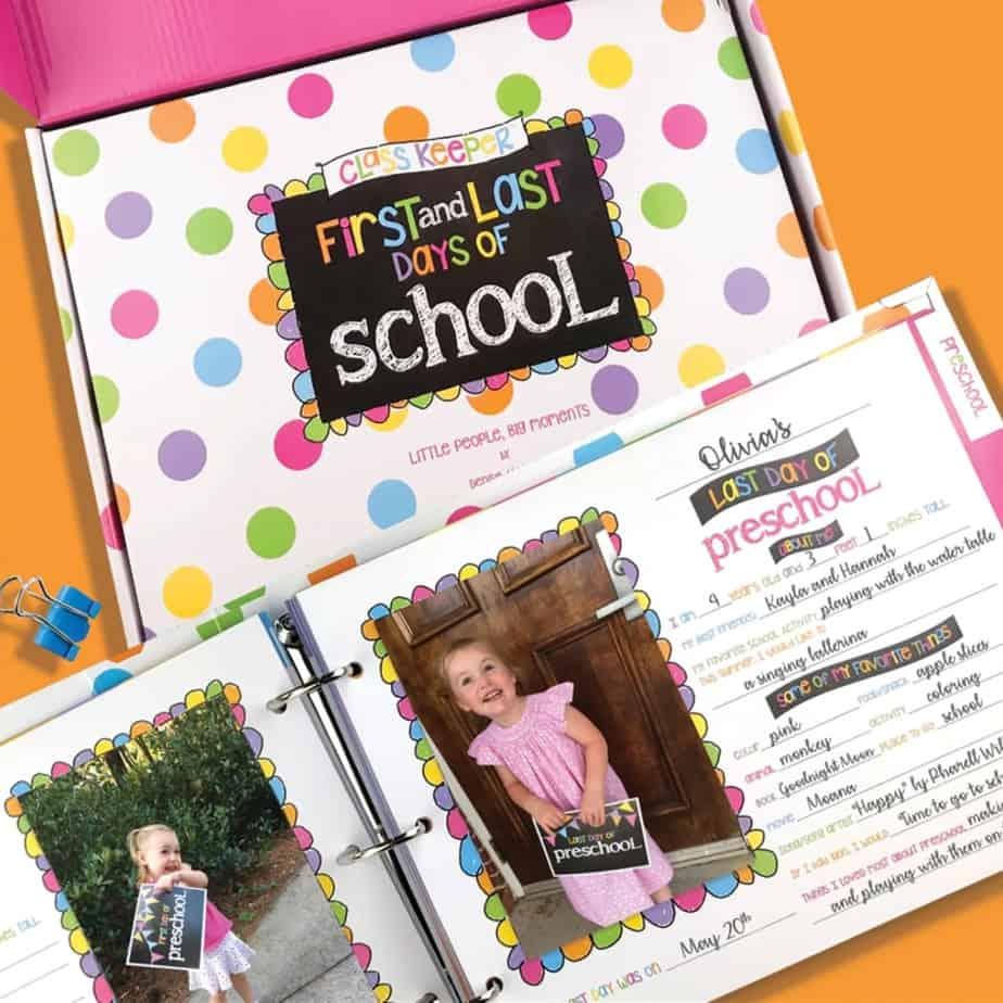 School Days Keepsake Binder .97 + Free Shipping