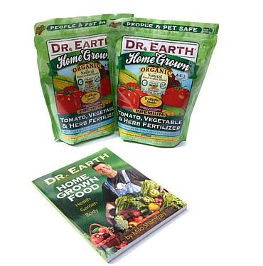 Dr. Earth 2-Pack Home-Grown Vegetable Fertilizer with Book .60 (Was .95)