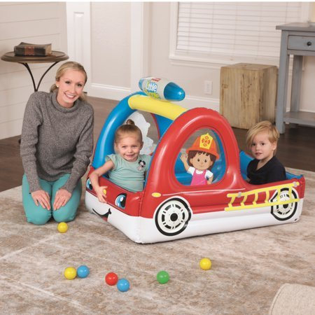Fisher-Price Fire Truck Inflatable Ball Pit Now $15.99 (Was $25.98)