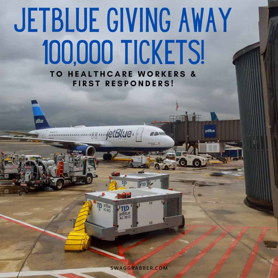 JetBlue Giving Away 100,000 Roundtrip Tickets for Healthcare Workers