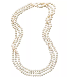 Macy's 100″ Cultured Freshwater Pearl Endless Strand Necklace $99 Shipped (Was $500)