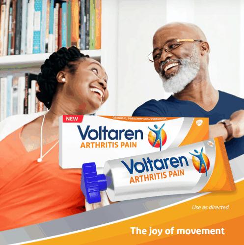 Free Sample of Voltaren Arthritis Pain Gel